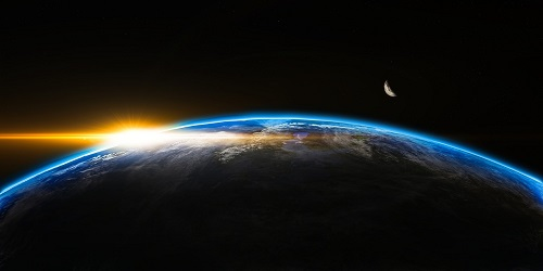 Global sunrise smaller