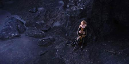 Anna in the cave